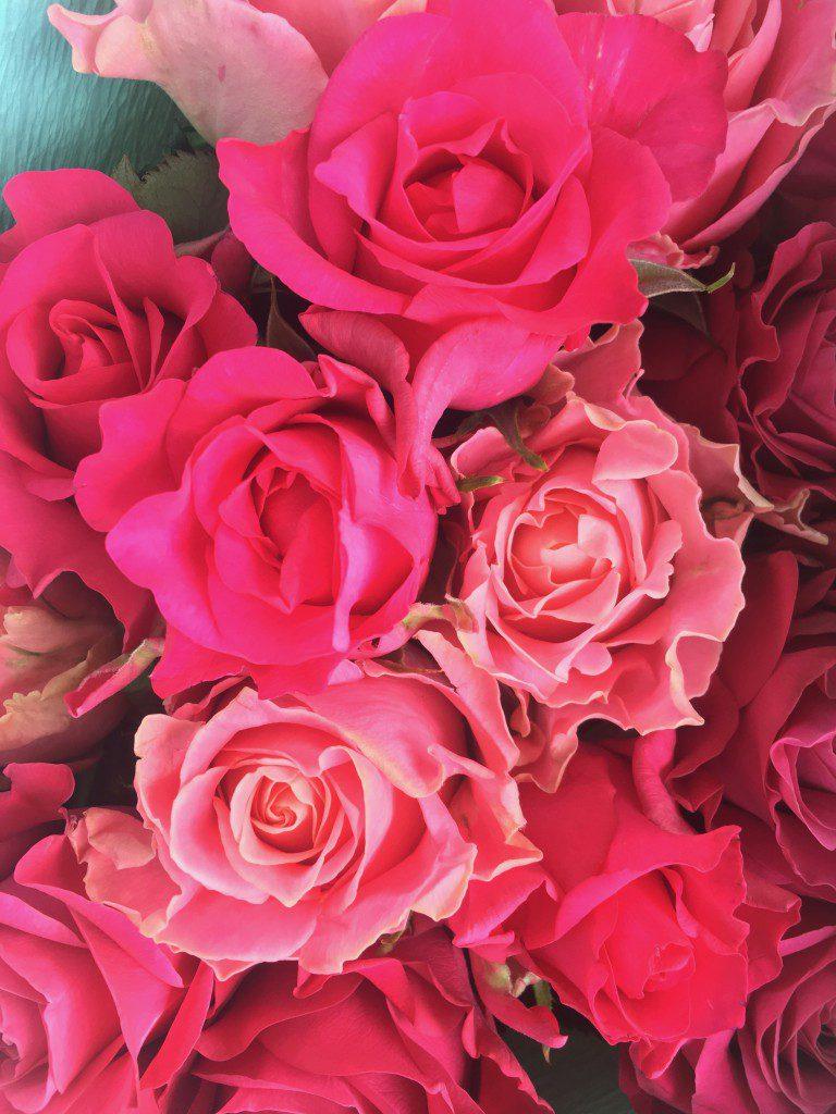 バラの香りが空間を浄化してくれます
